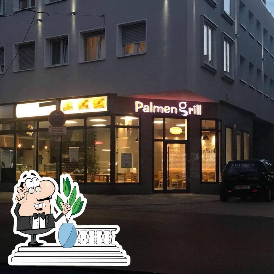 The exterior of Palmengrill