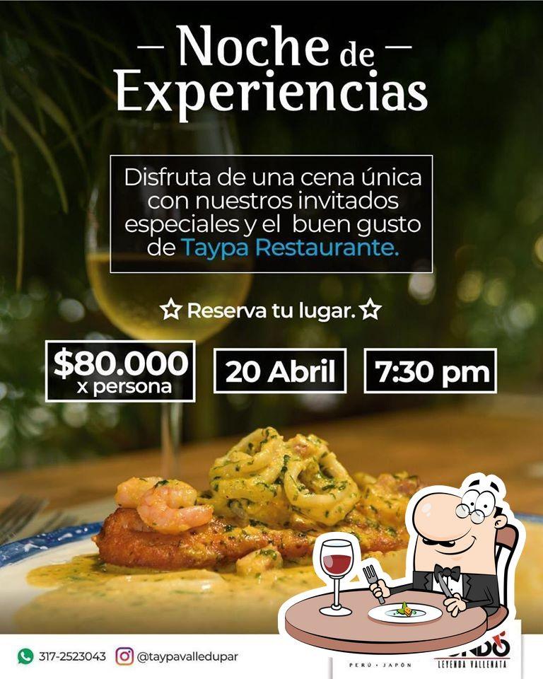 Food at Taypa