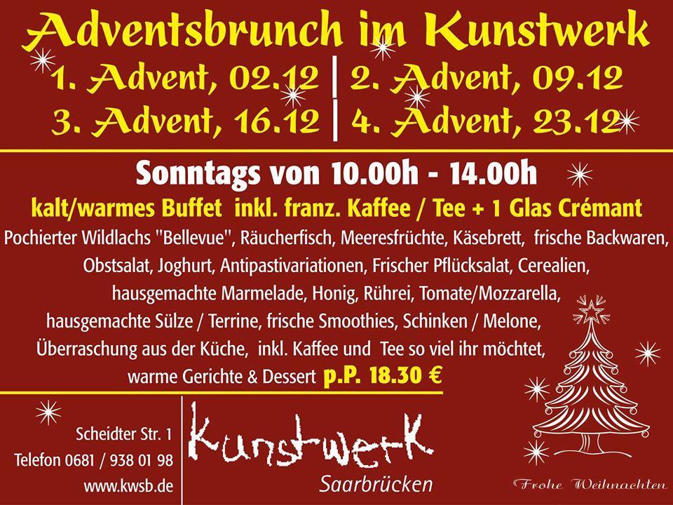 Hier ist die Werbung von Kunstwerk Saarbrücken - Bistro Malzeit