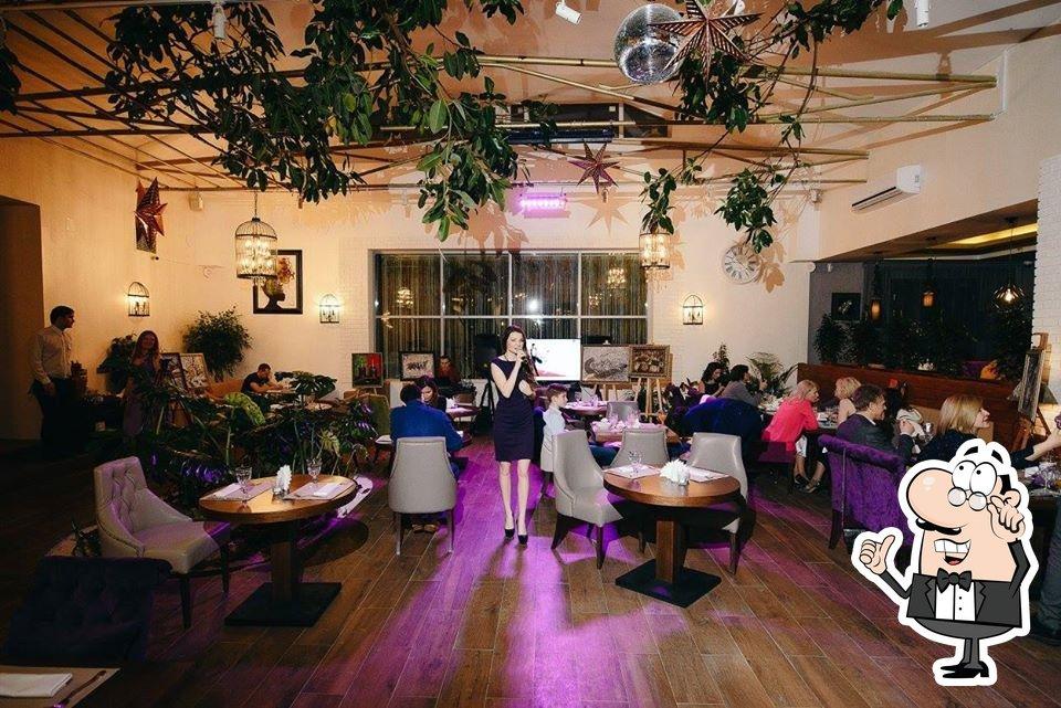 Интерьер Ресторан Фикус