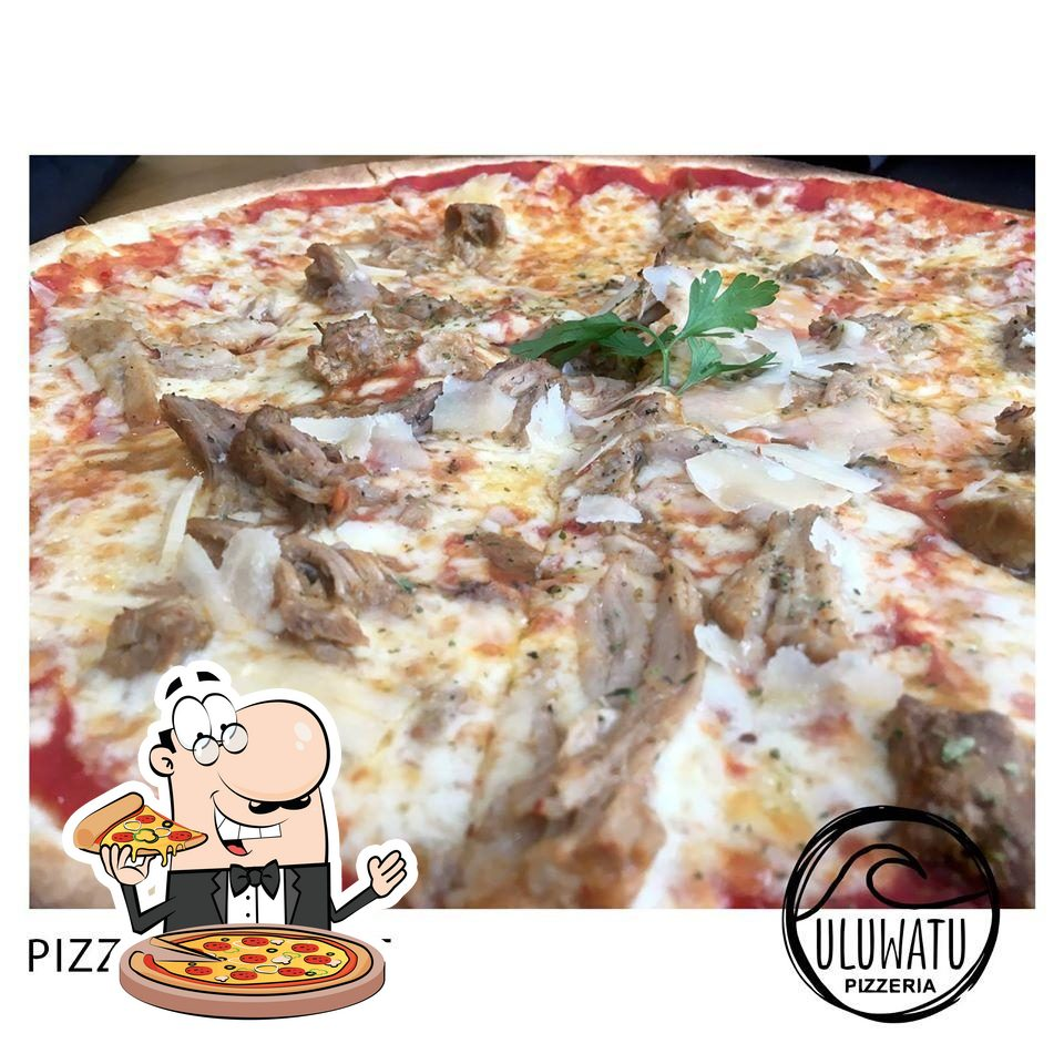 At Uluwatu Pizzeria, you can try pizza