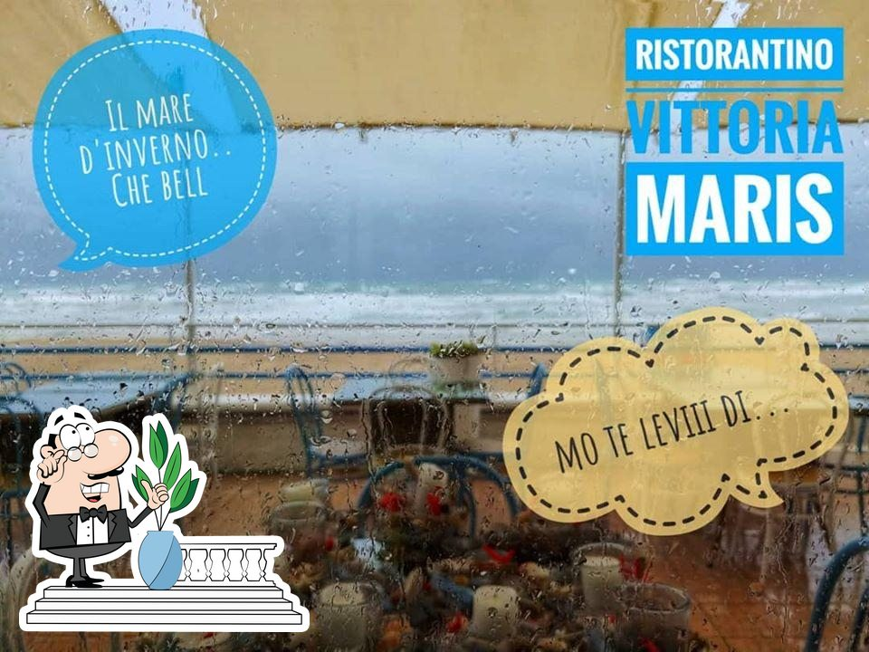 You can get some fresh air at the outside area of vittoria maris