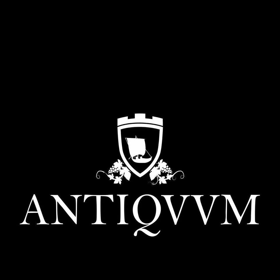 The graphical representation of Antiqvvm's brand