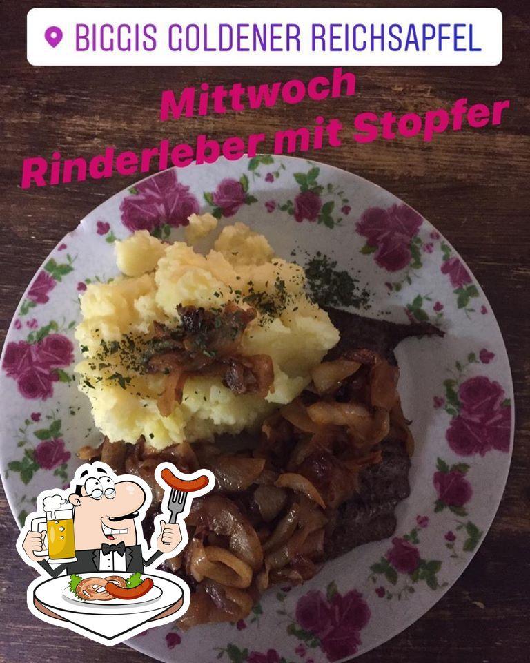 Блюда в Biggis Goldener Reichsapfel