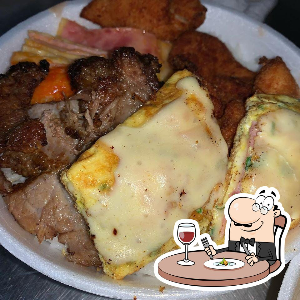 Meals at Santos Dumont