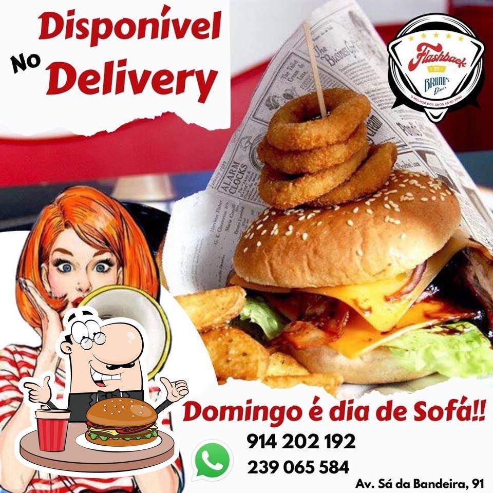 Os hambúrgueres do Brunn's Diner irão saciar diferentes gostos