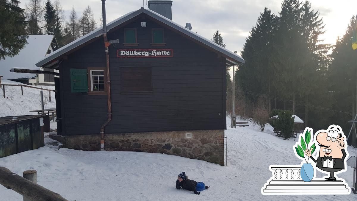 The exterior of Döllberghütte