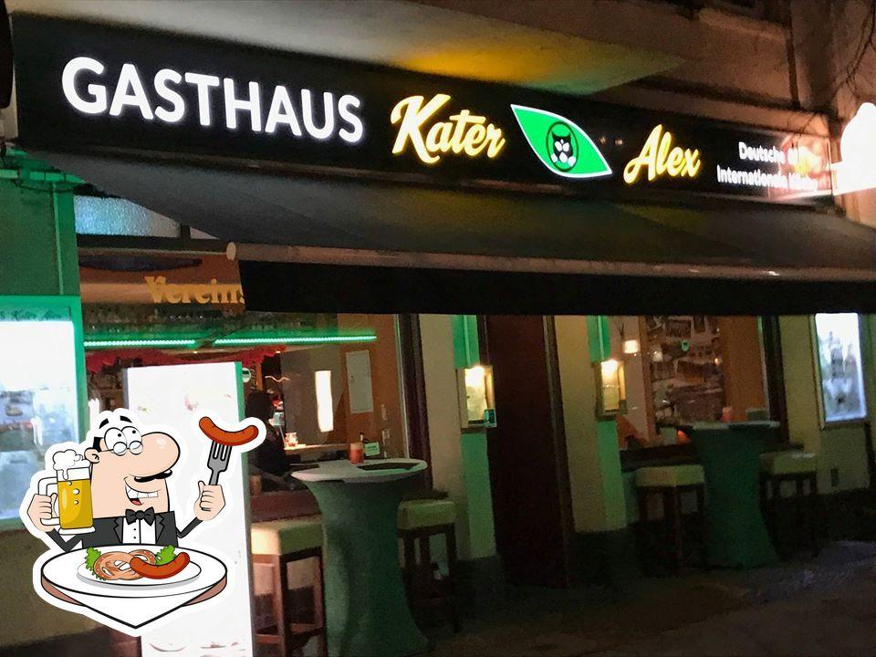 Nourriture à Gasthaus Kater Alex