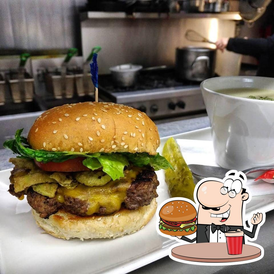 Hi-Point Restaurant & Lounge offers a range of options for burger lovers