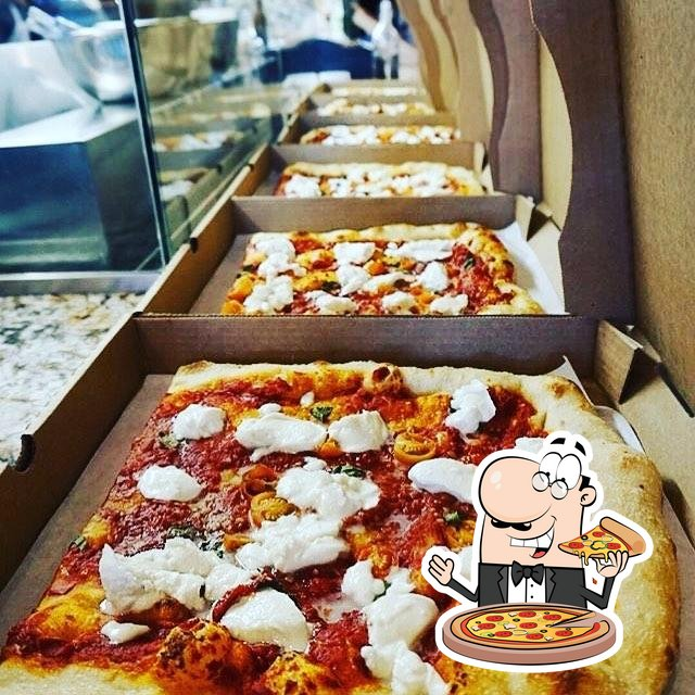 At Monzú Italian Oven + Bar, you can try pizza