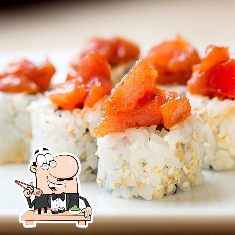 Faites-vous plaisir avec des sushis à Reporter