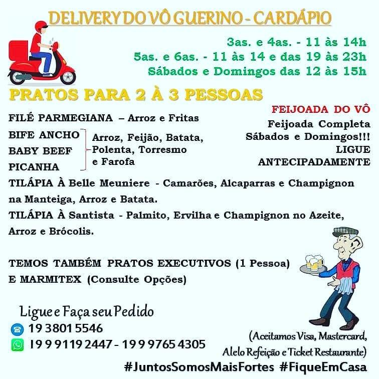 Leia as informações sobre o Vô Guerino Bar