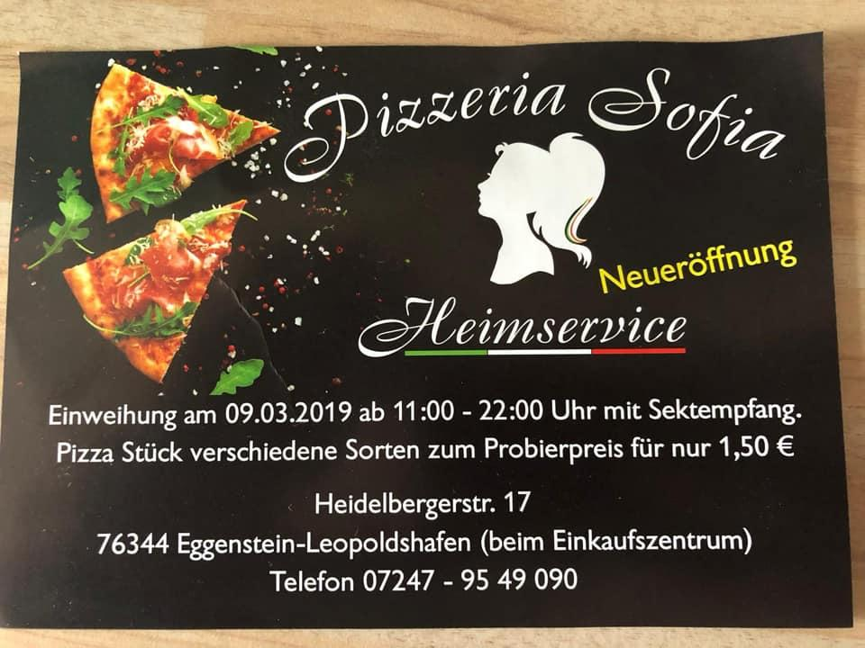 Реклама Pizzeria Sofia