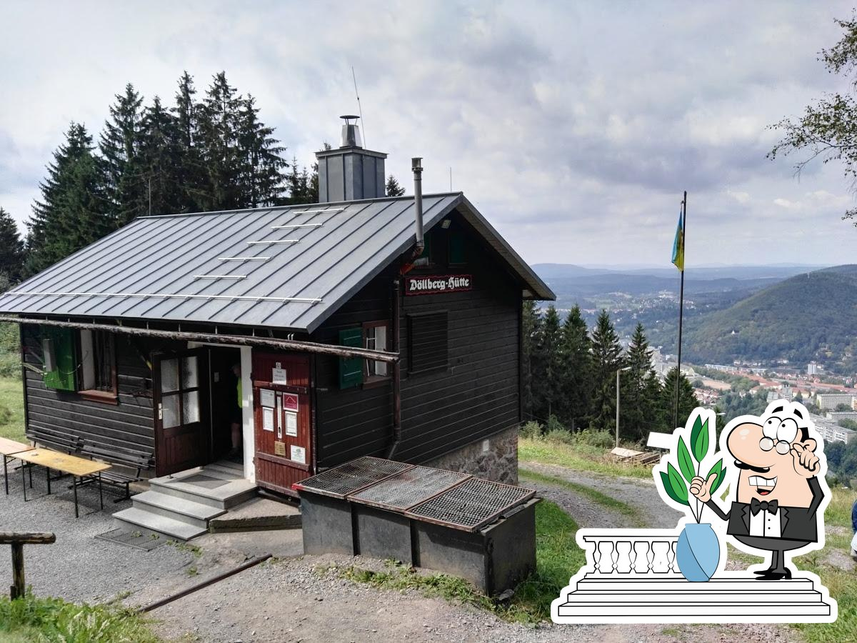 Check out how Döllberghütte looks outside