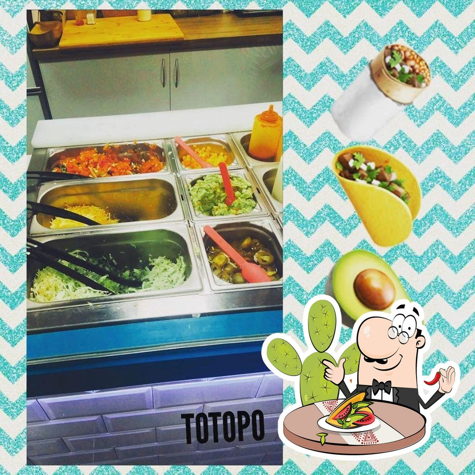 Еда в TOTOPO HENAO Mexican food