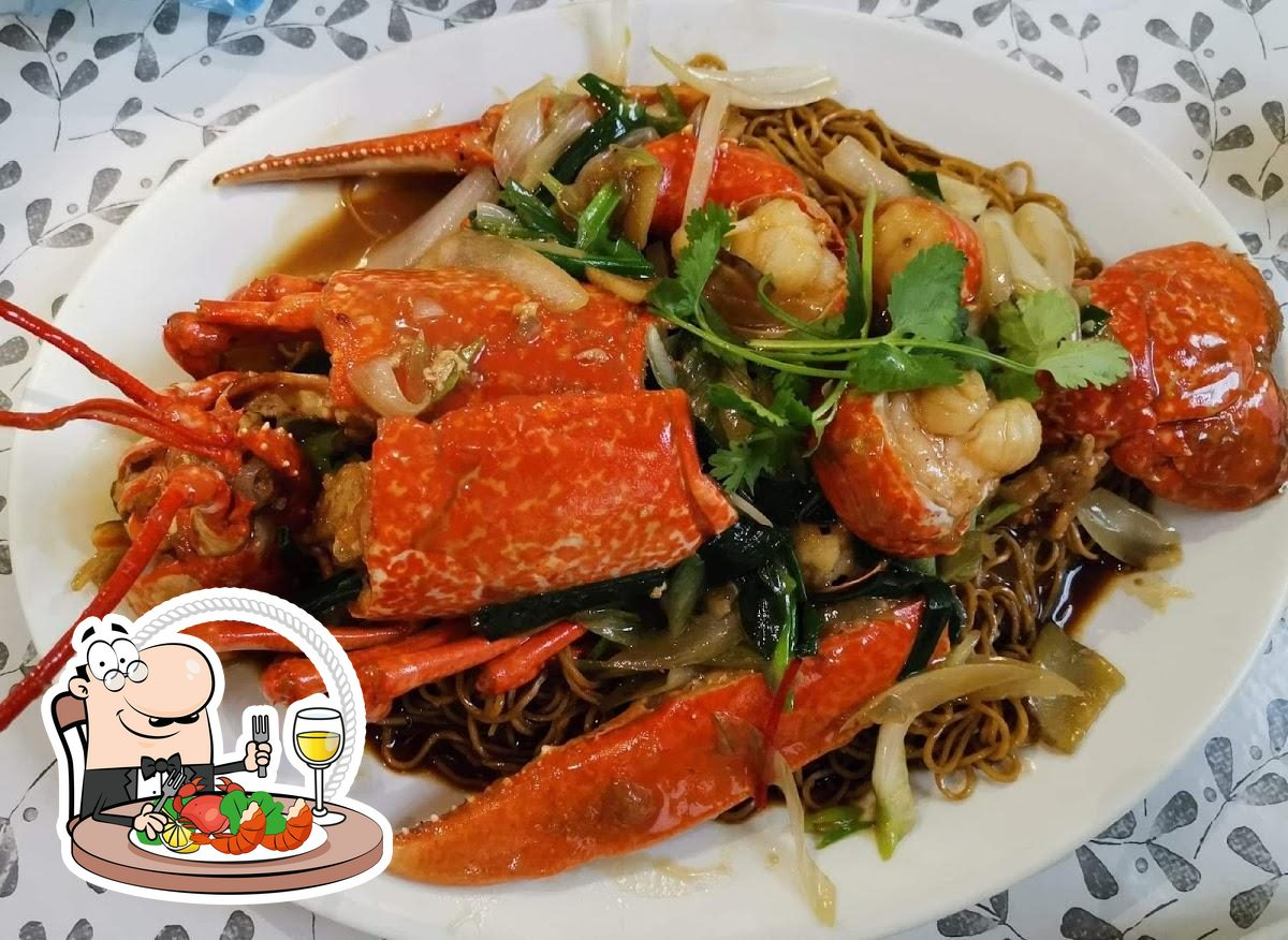 Order seafood at Chao Gong Chinese Restaurant