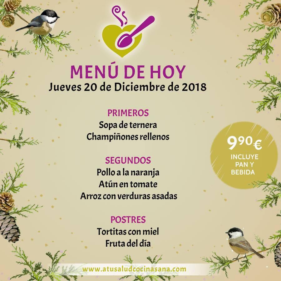 Реклама содержит информацию о A Tu Salud cocina sana