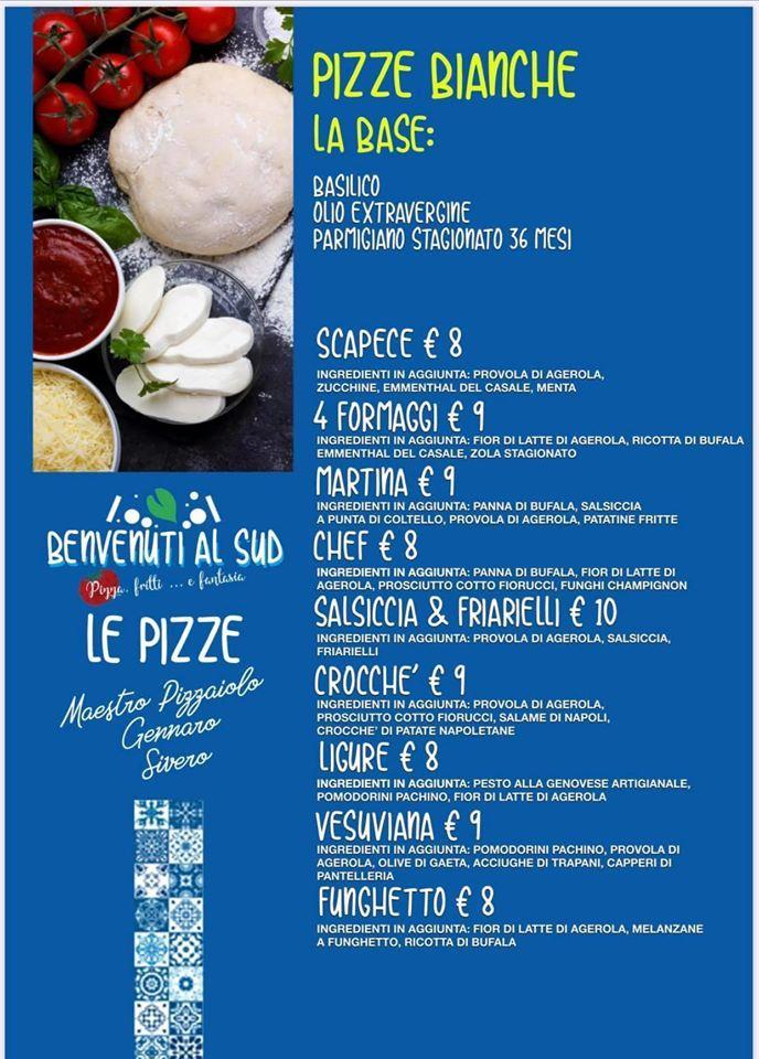 Реклама содержит информацию о Benvenuti Al Sud