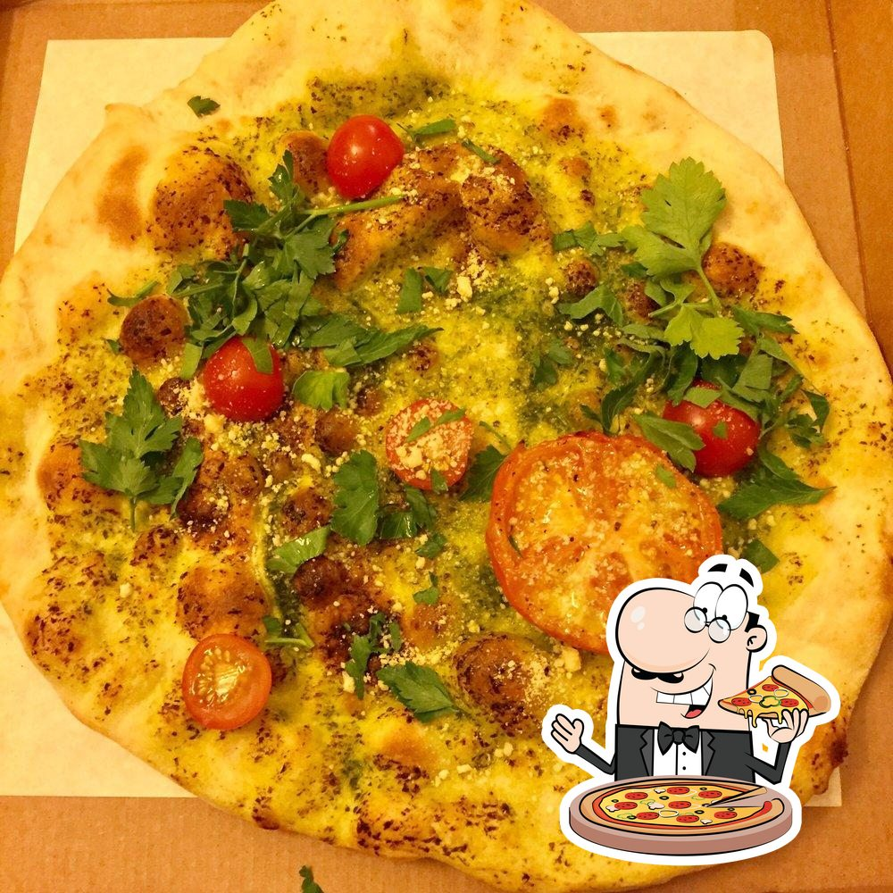 Get pizza at Peloton