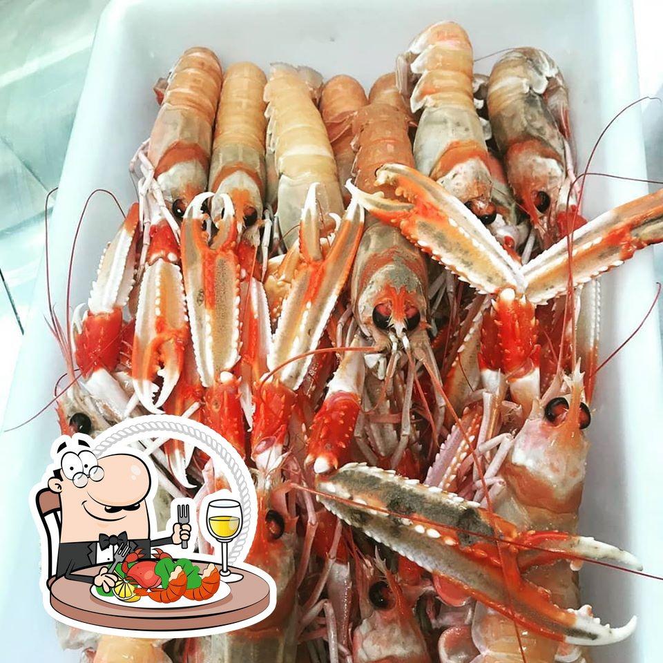 Prueba marisco en Restaurante Rafael