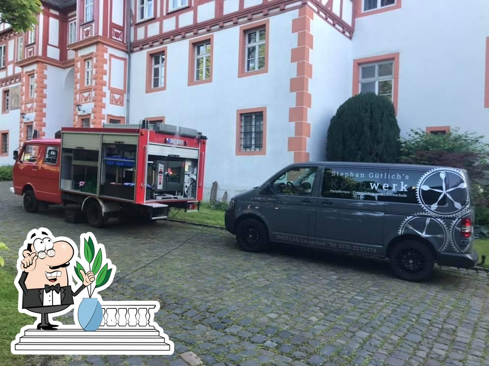 You can get some fresh air outside Stephan Gütlichs Kochwerk