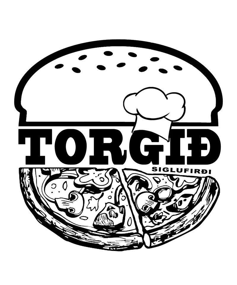 The logo of TORGIÐ restaurant