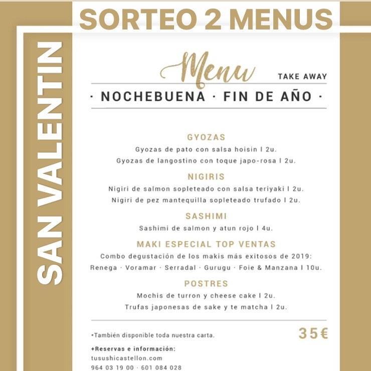 Lee toda la información que hay sobre Tu Sushi Castellón