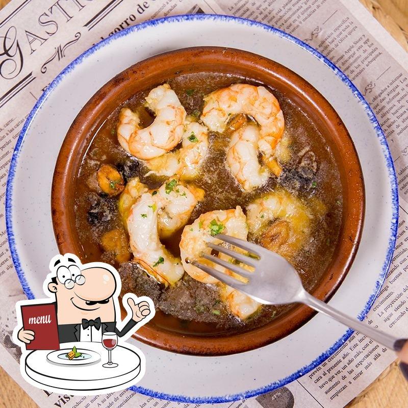 Comida en Can Pascual Restaurant