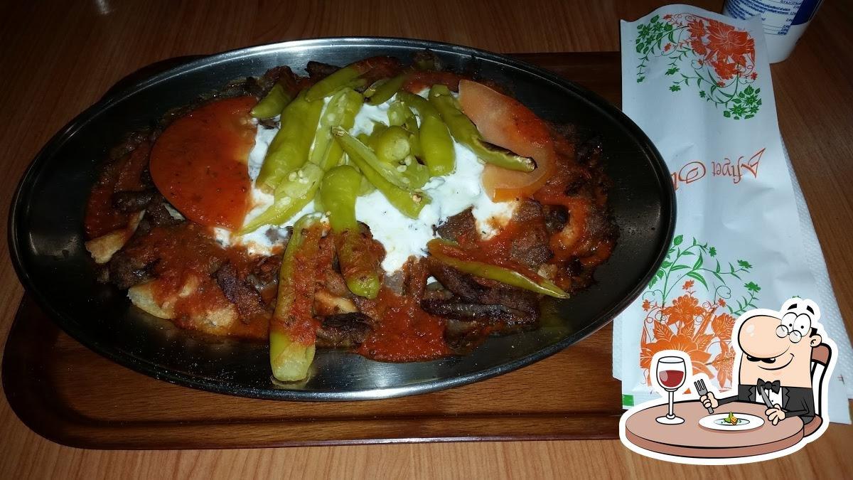 Essen im City Kebab