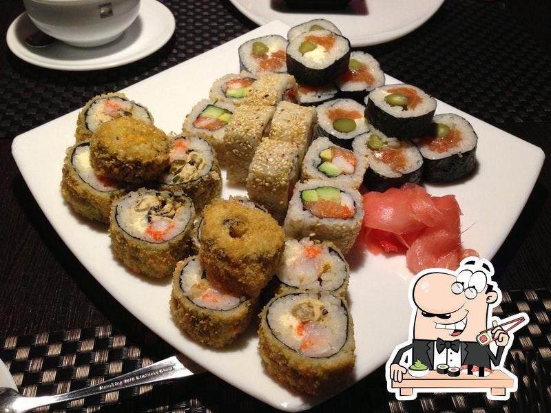 В Кук-Си Каби вы можете заказать суши