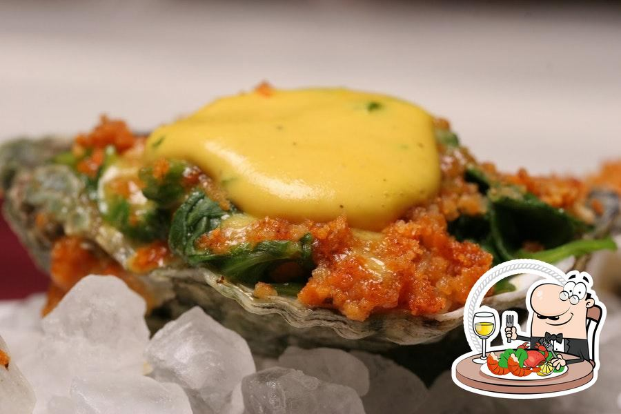 Order various seafood dishes offered by Aqua Grill