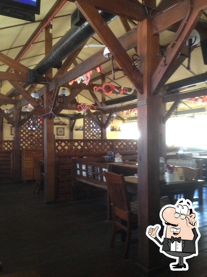 The interior of Burger House