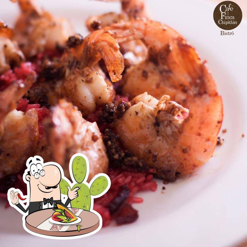Food at Café de la Finca