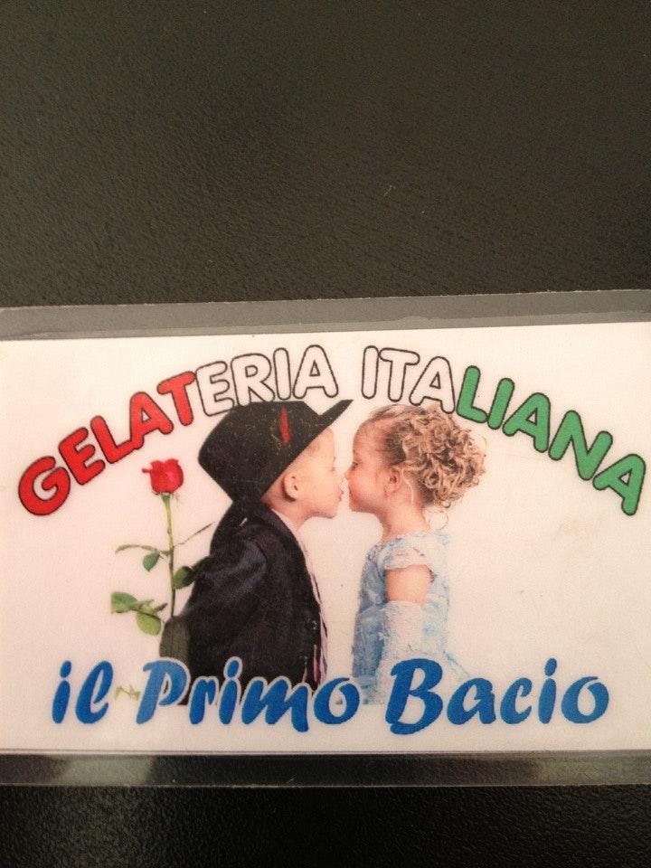 Il Primo Bacio has its own logo