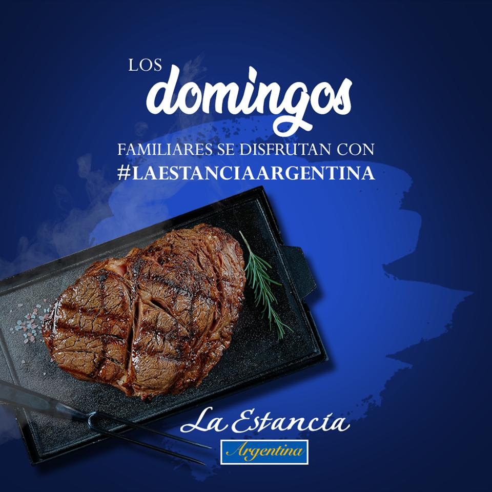Here's the advertisement of La Estancia Argentina