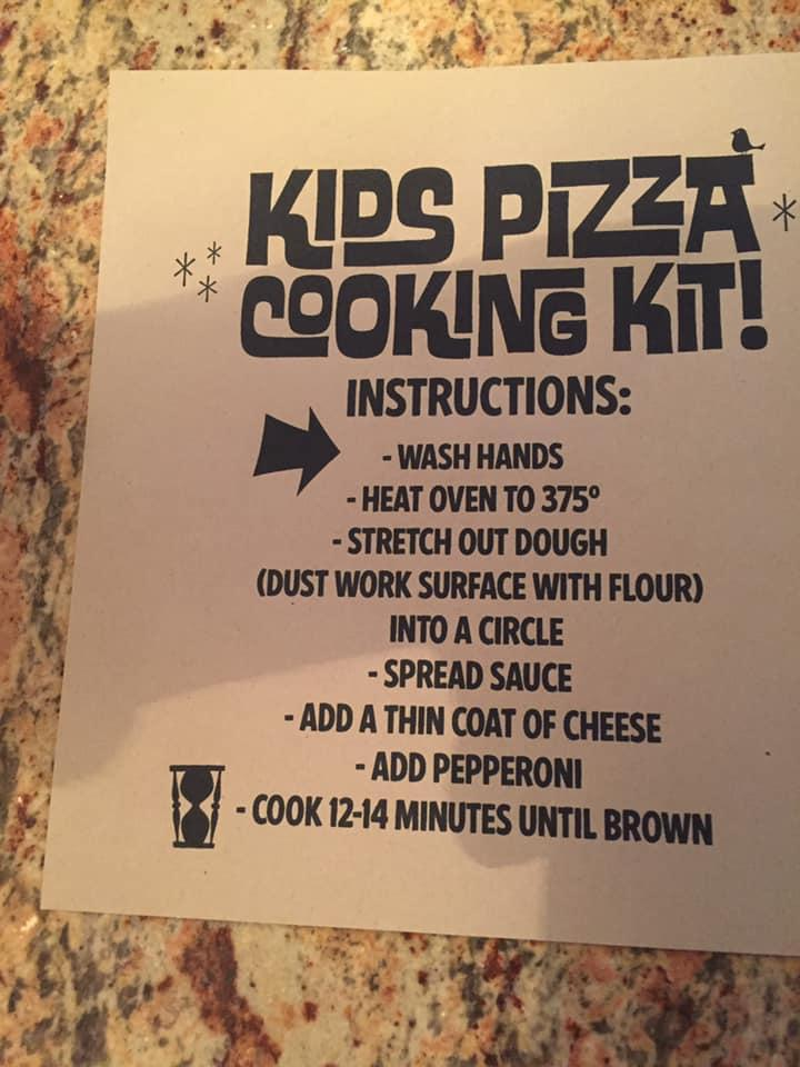 Read the information about LouEddies Pizza