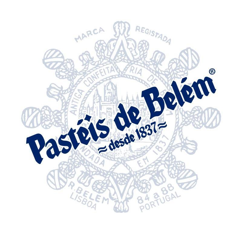 O logotipo do Pastéis de Belém