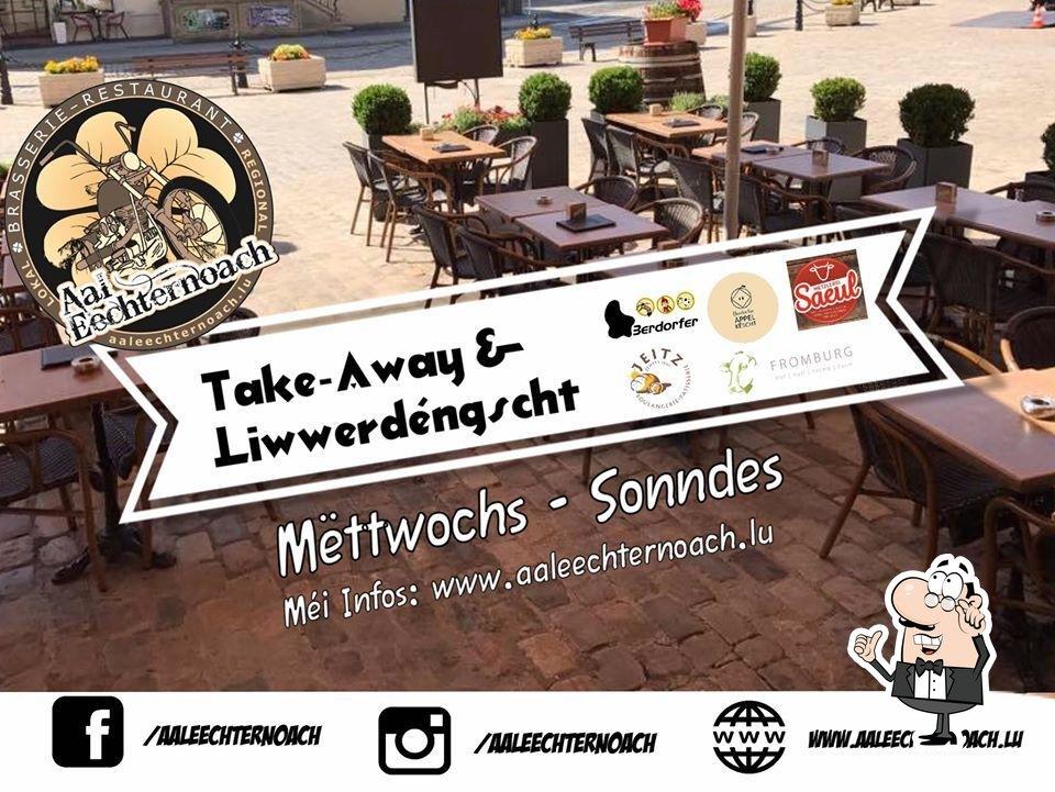 Check out how Restaurant Aal Eechternoach looks inside