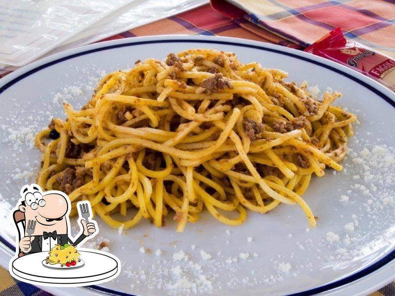 Food at Trattoria Cacciatore Cucina del Lago d'Iseo e Valcamonica