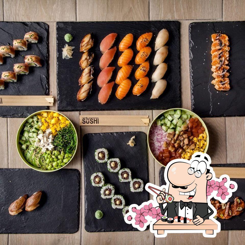 Platos en Tu Sushi Castellón
