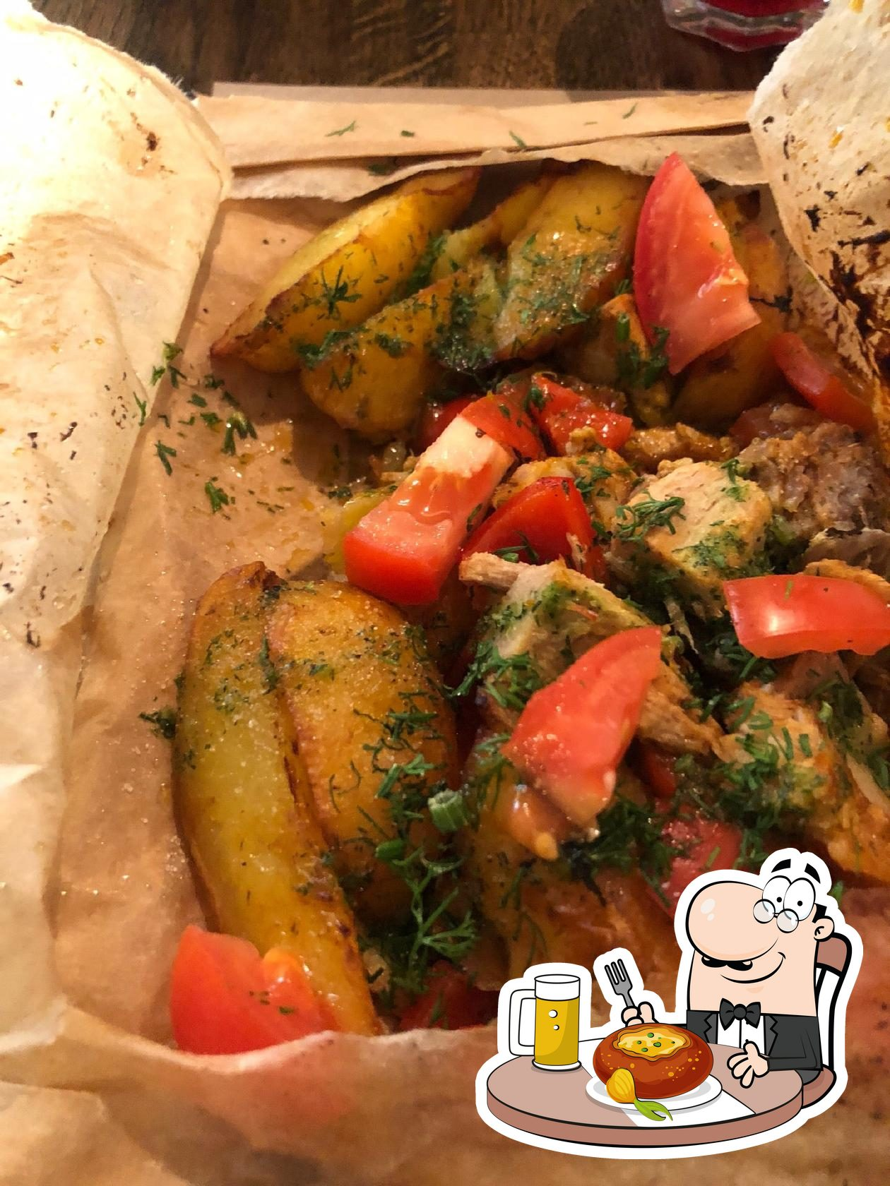 Блюда в Питница