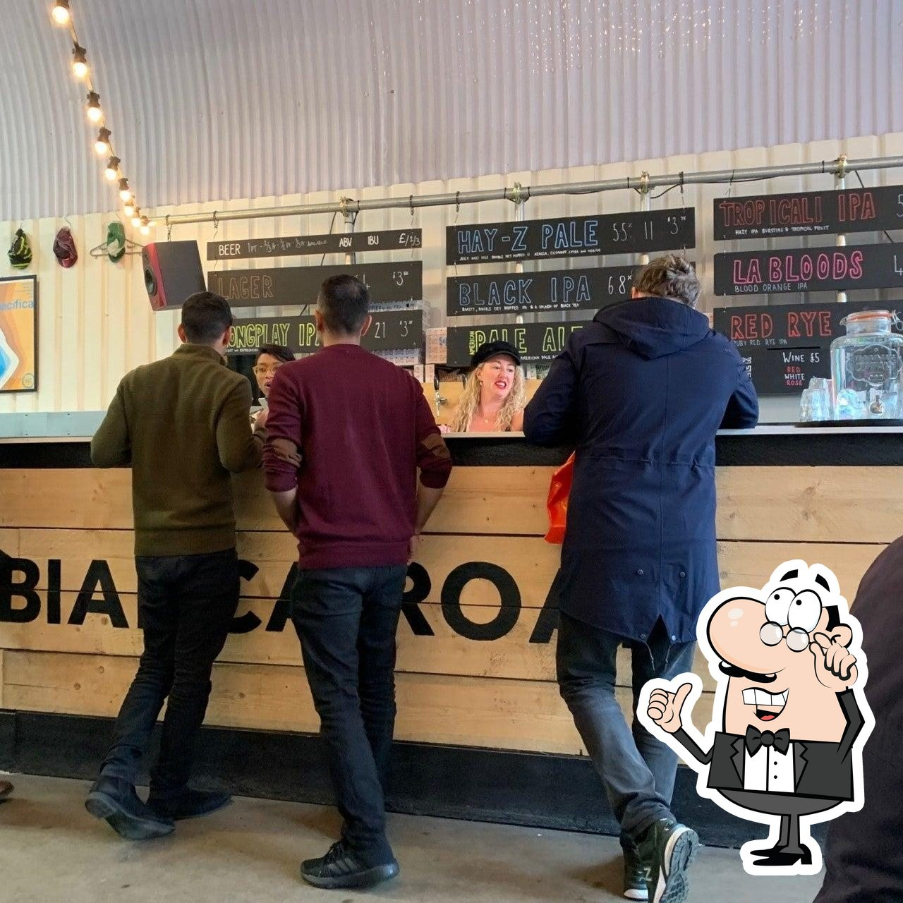 The interior of Bianca Road Brew Co