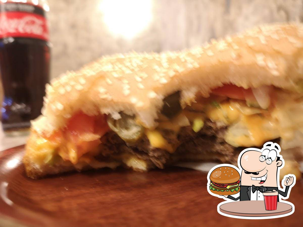Try out one of the burgers available at Burger Kebap