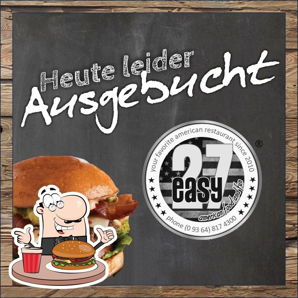 Order a burger at Easy27