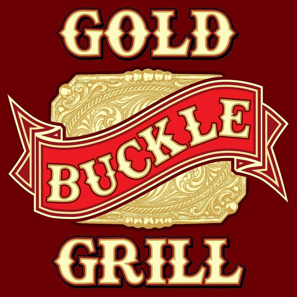Gold Buckle Grill has its own logo