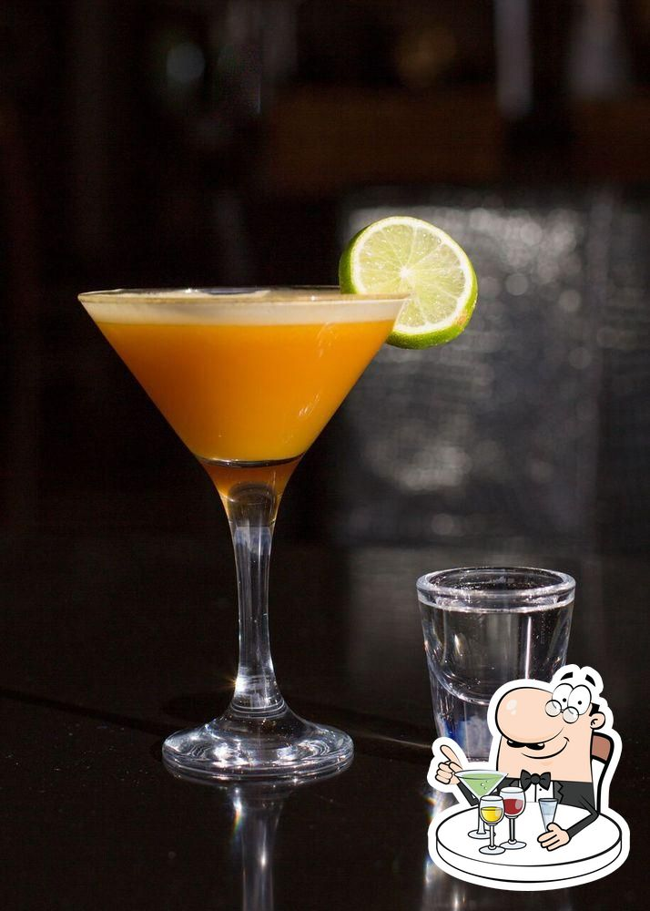 В JOJO'S Kitchen and Bar представлено широкое разнообразие напитков