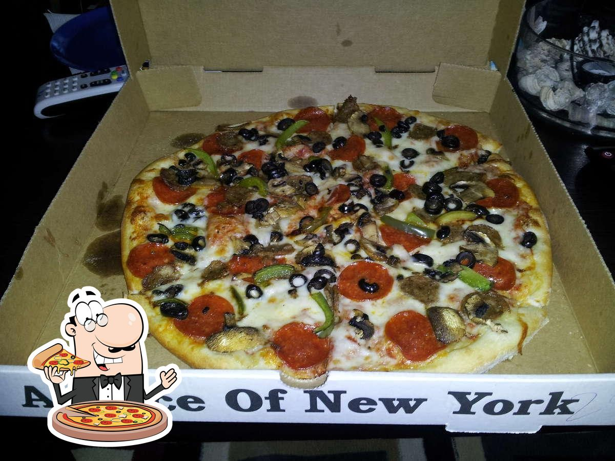 Order pizza at Joey's Pizza