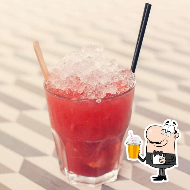 Order various beverages available at Las Iguanas