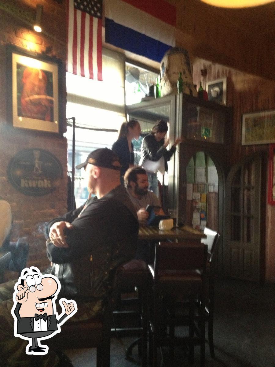 El interior de Mr. Drunke Bar