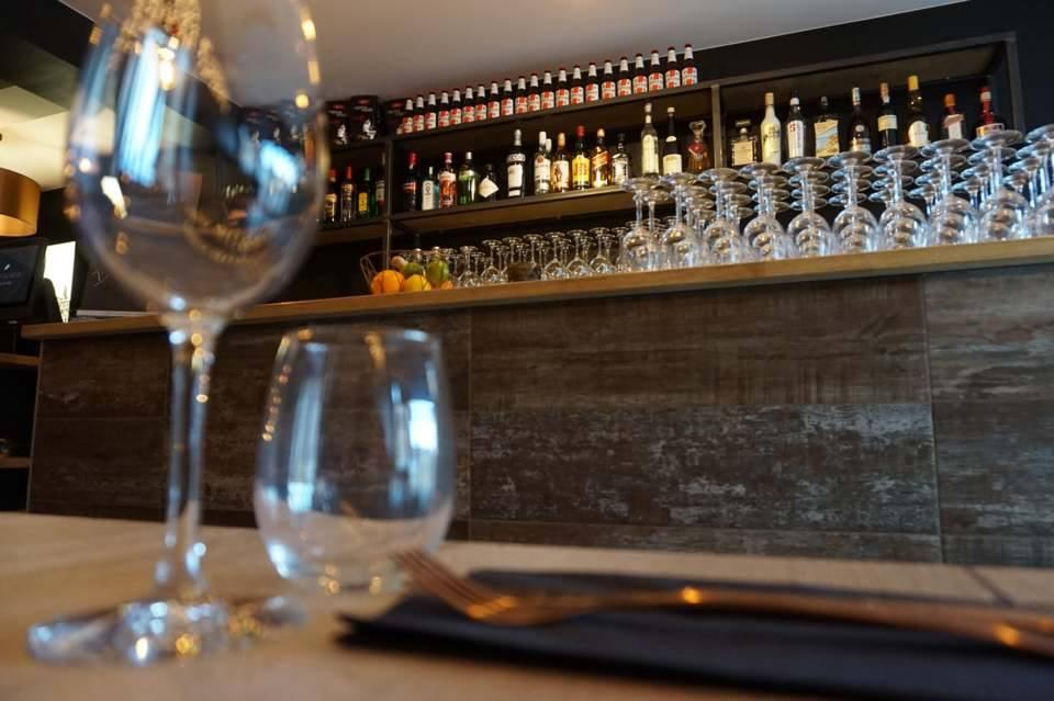 It's nice to savour a glass of wine at Neo Gusto